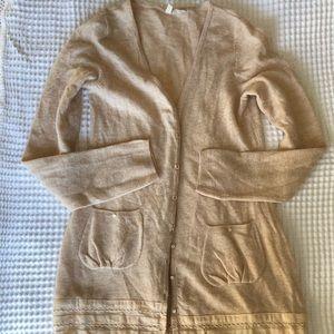 Anthropologie Sweaters - 🍃 Moth 🍃Cream wool blend sweater